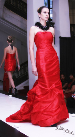 Fashion Collection Colors of Tango. Washington DC Fashion Week