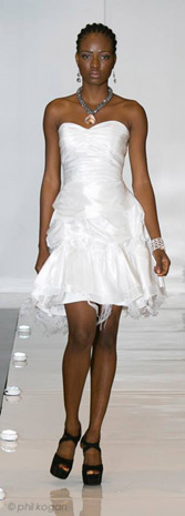 Bridal Collection White by Alena Fede. Washington DC Fashion Week