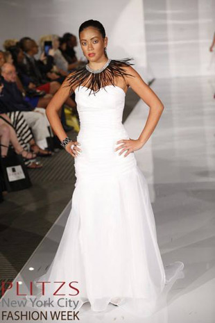 Bridal Collection White by Alena Fede. NYC Fashion Week