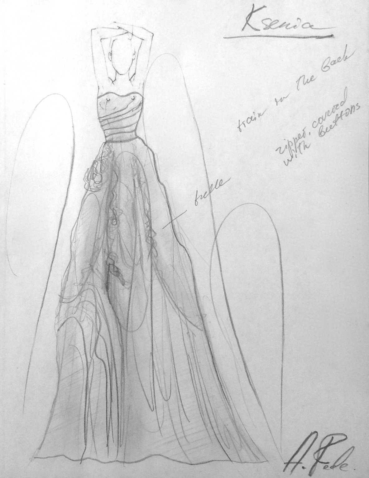 Concept of Your Ideal Dress
