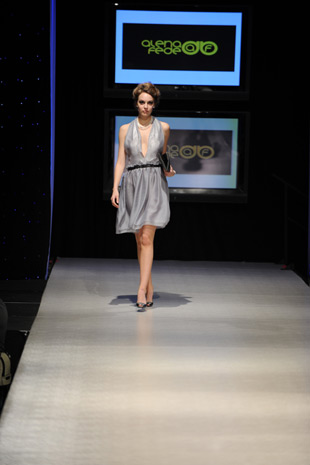 Fashion Collection Passion Night. Runway
