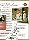 Charleston Weddings Magazine. Summer 2011. See page 129